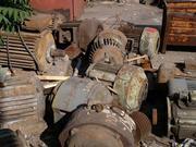 Электродвигатель в лом, сгоревшие, списанные Электродвигатели
