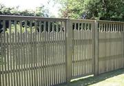Изготовление и монтаж металлического и деревянного забора и ворота.