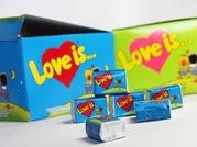 Жевательная резинка «Love Is» оптом