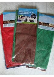 Салфетки, полотенца, хозяйственные тряпки из микрофибры