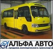 Уникальный пригородный автобус Hyundai County Kuzbass