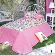 Детское покрывало для девочек в спальню+2 наволочки