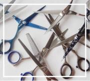 Продажа профессионального парикмахерского инструмента