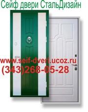 Железные двери сейф-двери бронированные двери стальные и металлические