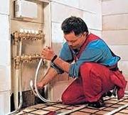 Монтаж полипропиленовых труб.Установки труб в квартир