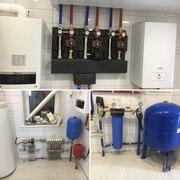 Монтаж отопления водоснабжения и канализации