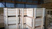 Изготовление промышленной упаковки из дерева