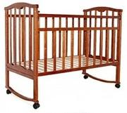 НОВАЯ кроватка ЗОЛУШКА каталка качалка